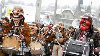 © Luzern Tourismus AG / Luzerner Fasnachtsprogramm / Zum Vergrößern auf das Bild klicken