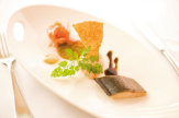 Foto © Werzer`s Hotel Resort Pörtschach / Fischgericht - Werzer`s Hotel Resort Pörtschach / Zum Vergrößern auf das Bild klicken
