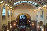 Budapest - Géllert-Bad, Eingangshalle / Zum Vergrößern auf das Bild klicken