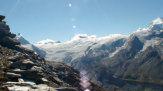 Zermatt im Wallis, Schweiz - Gletscher / Zum Vergrößern auf das Bild klicken