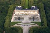 Schloss Herrenchiemsee, Bayern - Luftaufnahme / Zum Vergrößern auf das Bild klicken