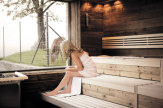 © Hotel Bergkristall - Natur und Spa / Hotel Bergkristall, Oberstaufen - Hirschsauna / Zum Vergrößern auf das Bild klicken