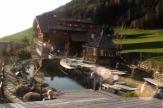 Hotel Lüsnerhof, Südtirol - Blick vom Badehaus / Zum Vergrößern auf das Bild klicken