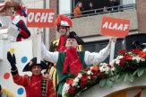 Foto © Stadt Aachen / FB Presse & Marketing, Fotograf Andreas Herrmann / Karnevalsumzug in Aachen, Deutschland / Zum Vergrößern auf das Bild klicken