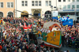 Foto © Braunschweig Stadtmarketing GmbH / Karnevalsumzug in Braunschweig, Deutschland / Zum Vergrößern auf das Bild klicken
