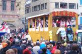 Foto � CTW W�rzburg / Andreas Bestle / Karnevalsumzug in W�rzburg, Deutschland / Zum Vergr��ern auf das Bild klicken