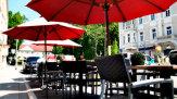 55PLUS Medien / Keplerstuben Gastgarten Stadtplatz / Zum Vergrößern auf das Bild klicken