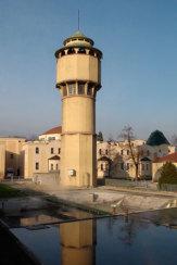 Bad Piestany, Slowakei - Kühlturm / Zum Vergrößern auf das Bild klicken