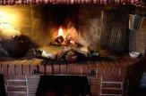 Buje, Kroatien - Casa La Parenzana: Kaminofen / Zum Vergrößern auf das Bild klicken