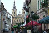 Miskolc, Ungarn - Déryné-Straße / Zum Vergrößern auf das Bild klicken