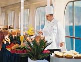 Hapag-Lloyd Kreuzfahrten - MS Columbus: BBQ on deck / Zum Vergrößern auf das Bild klicken