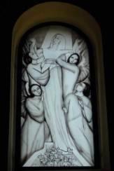 Foto � Edith Spitzer, Wien | www.55PLUS-magazin.net / Opatija, Kroatien - Kirchenfenster von St. Jakob / Zum Vergr��ern auf das Bild klicken
