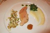 Foto © Edith Spitzer, Wien | 55PLUS Medien GmbH / Restaurant Castell, Wernberg - Vorspeise / Zum Vergrößern auf das Bild klicken