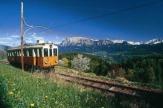 Südtirol - Rittner-Bahn / Zum Vergrößern auf das Bild klicken