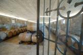 Il Roncal - Weinkeller / Zum Vergrößern auf das Bild klicken