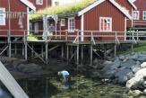 Fischerhaus, Lofoten - © C.H.//Innovation Norway / Zum Vergrößern auf das Bild klicken