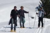 Naturhotel Lüsnerhof, Südtirol - Schneeschuhwanderer und Langläufer / Zum Vergrößern auf das Bild klicken
