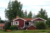 Schweden - typisches Haus / Zum Vergrößern auf das Bild klicken