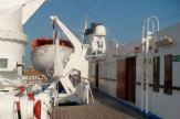 MS Dalmacija 2008 - Rettungsschiffe auf dem Sonnendeck / Zum Vergrößern auf das Bild klicken
