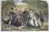 Stich Kaiserkur 1864 / Zum Vergrößern auf das Bild klicken