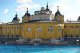 Budapest - Széchenyi-Bad, Sauna- & Dampfbadbereich / Zum Vergrößern auf das Bild klicken