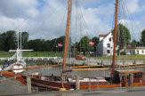 © 55PLUS Medien GmbH / Tönning, Deutschland - Hafen / Zum Vergrößern auf das Bild klicken