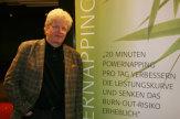 Foto © Anita Arneitz, Klagenfurt / UnivProf Walzl - Powernapping / Zum Vergrößern auf das Bild klicken