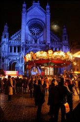 Winter-Wunder in Brüssel, Flandern - Belgien / Zum Vergrößern auf das Bild klicken