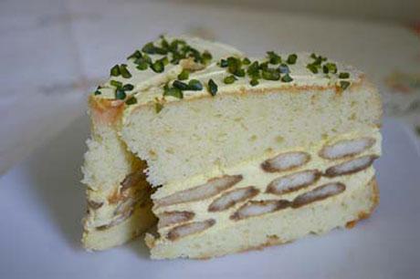 55PLUS Vanilla-Torte