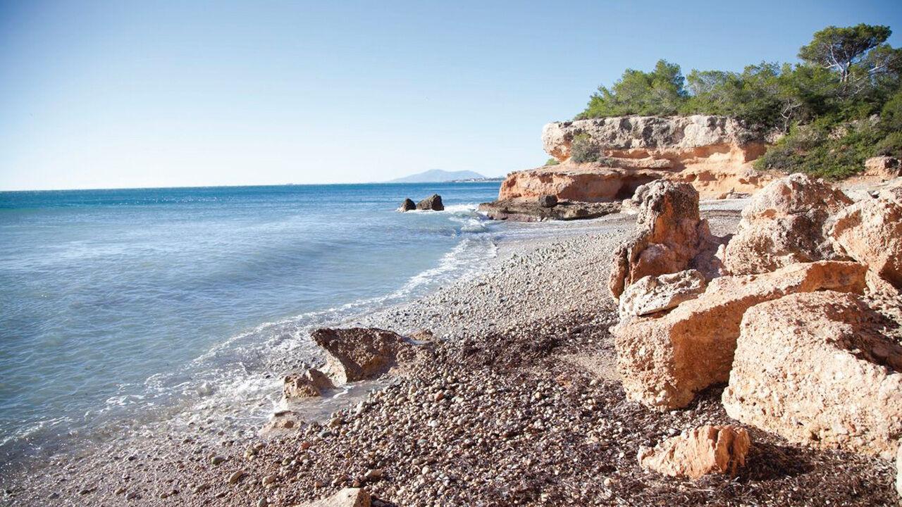 © Catalunya Tourism / Nani Arenas / Playa Llenya Ametlla del Mar, Katalonien