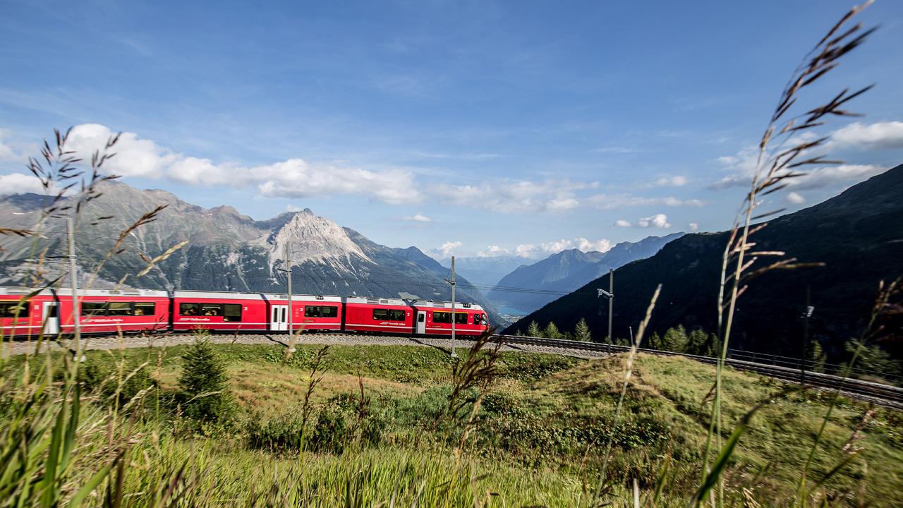 Auf Schienen Safari Mit Der Rhatischen Bahn
