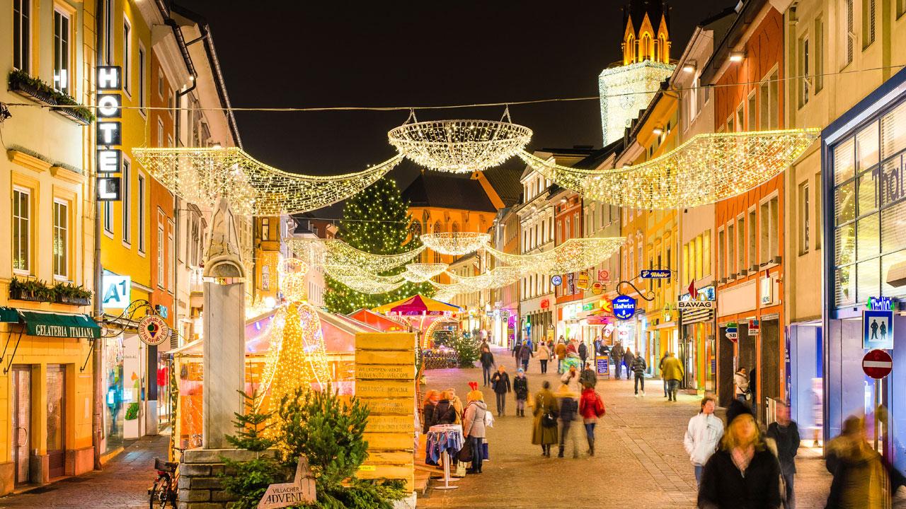 Weihnachtsmarkt Oberammergau.Adventmarkt In Villach Kärnten