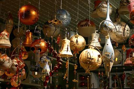 Striezelmarkt in Dresden - Weihnachtskugeln