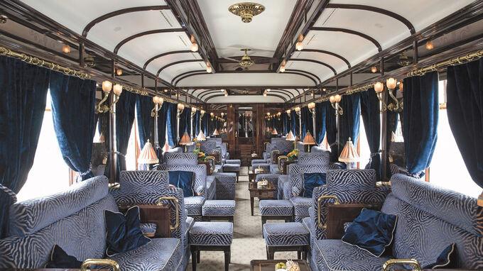 © Ameropa / Venice Simplon Orient Express / Zum Vergrößern auf das Bild klicken