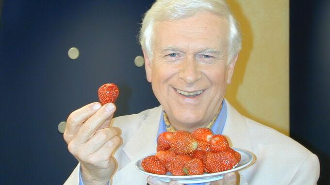 © Hademar Bankhofer / Hademar Bankhofer - gesunde Erdbeeren / Zum Vergrößern auf das Bild klicken