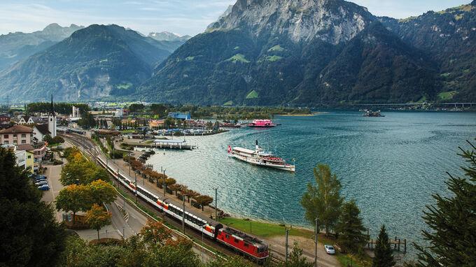 © Ameropa / Gotthard Panorama Express / Zum Vergrößern auf das Bild klicken