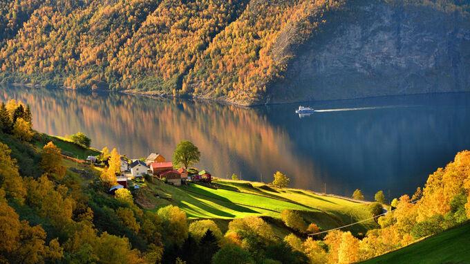 © Foap Visit Norway / Aurlandsfjorden / Zum Vergrößern auf das Bild klicken