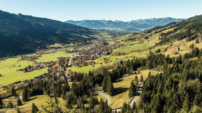 © pixabay / dMz / Bad Hindelang, Bayern - Ostrachtal / Zum Vergrößern auf das Bild klicken
