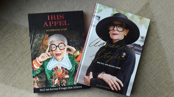 © Edith Köchl, Wien / Cover - Stil ist keine Frage des Alters und Advanced Style / Zum Vergrößern auf das Bild klicken