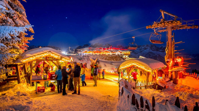© Kurt Härting / Wilder Kaiser, Tirol - Bergadvent / Zum Vergrößern auf das Bild klicken