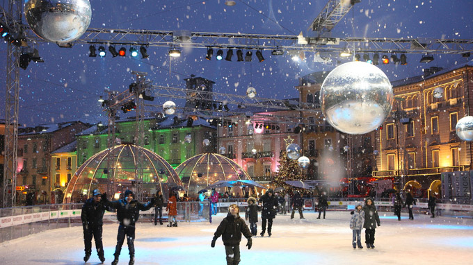 Tessin, CH - Locarno On Ice