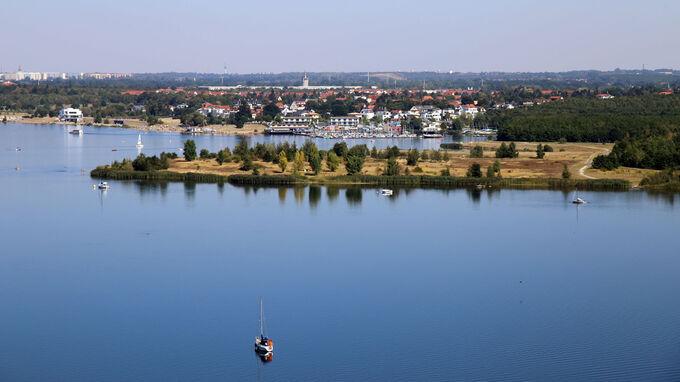 © Andreas Schmidt / Neuseenland, Sachsen - Cospudener See / Zum Vergrößern auf das Bild klicken