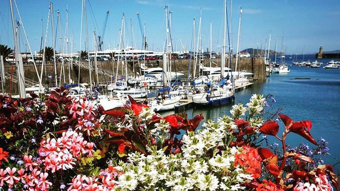 © Visit Guernsey / Guernsey, GB - Hafen / Zum Vergrößern auf das Bild klicken