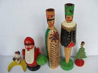 Christbaumschmuck 6 Holzspielzeug