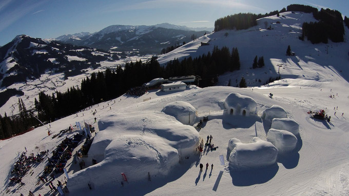 © ALPENIGLU® Dorf / Alpeniglu-Dorf, Kitzbüheler Alpen / Zum Vergrößern auf das Bild klicken