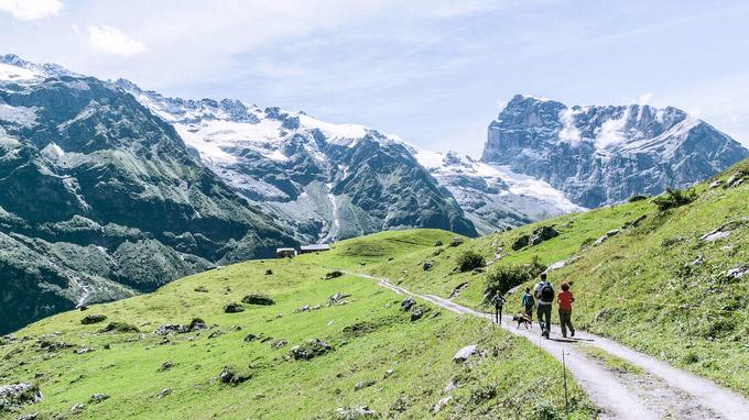 © Engelberg Titlis Tourismus / Engelberg, Schweiz - AlpkäseTrail / Zum Vergrößern auf das Bild klicken