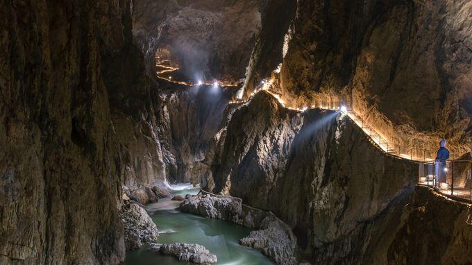 Karst, Slowenien - Höhlen von Škocjan