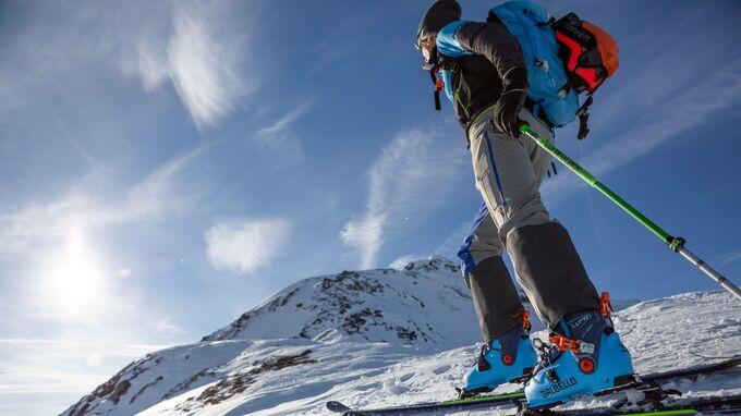 Kitzbüheler Alpen, Tirol - Aufstieg KAT Skitour
