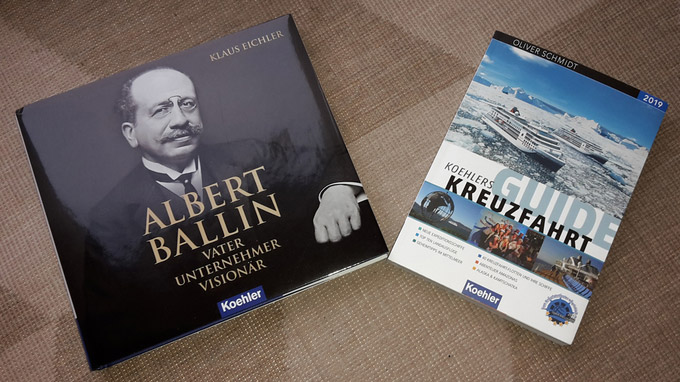 © Koehler Verlag / Buchbesprechung Ballin und Kreuzfahrt / Zum Vergrößern auf das Bild klicken