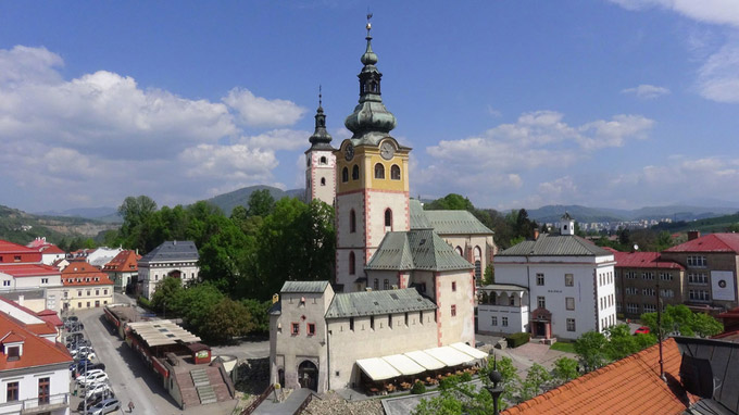 © Edith Spitzer, Wien / Banska Bystrica, SK - Kirchenbezirk / Zum Vergrößern auf das Bild klicken